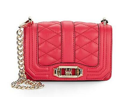 Rebecca Minkoff Mini Love Leather Shoulder Bag @ Saks Off 5th