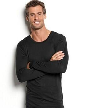 32 Degrees Heat by Weatherproof, BaseLayer Long Sleeve Crew Legging @ macys.com