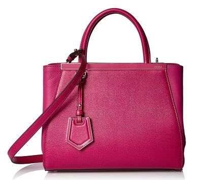 Fendi Petite 2Jours Satchel, Fuchsia On Sale @ MYHABIT