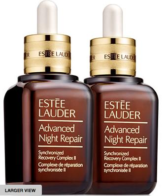 $155 + 9-Pc Gift Estée Lauder Advanced Night Repair Synchronized Recovery Complex II Duo @ macys.com