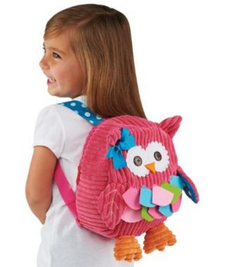 Mud Pie Back Pack, Owl @ Amazon