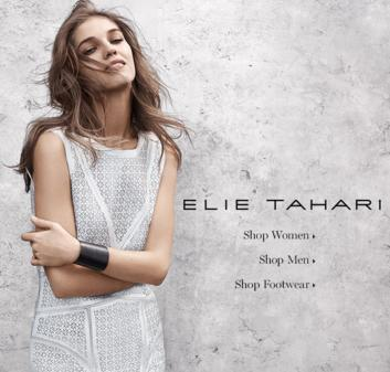 Extra 20% Off Selected Apparel Sale @ Elie Tahari