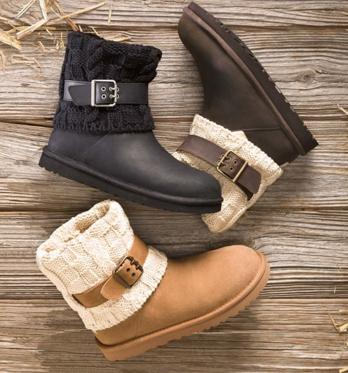 UGG Australia Womens Cassidee Leather Winter Boot