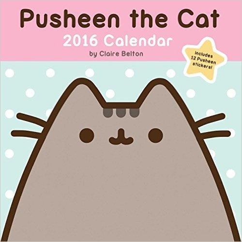 Pusheen the Cat 2016 Wall Calendar