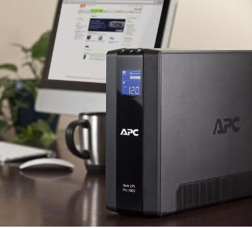 APC BR1000G Back-UPS Pro 8-outlet Uninterruptible Power Supply