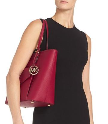 MICHAEL Michael Kors 'Large Jet Set' Pocket Tote