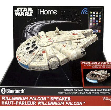 $49.99 iHome - Star Wars Hero Star Ship Portable Bluetooth Speaker