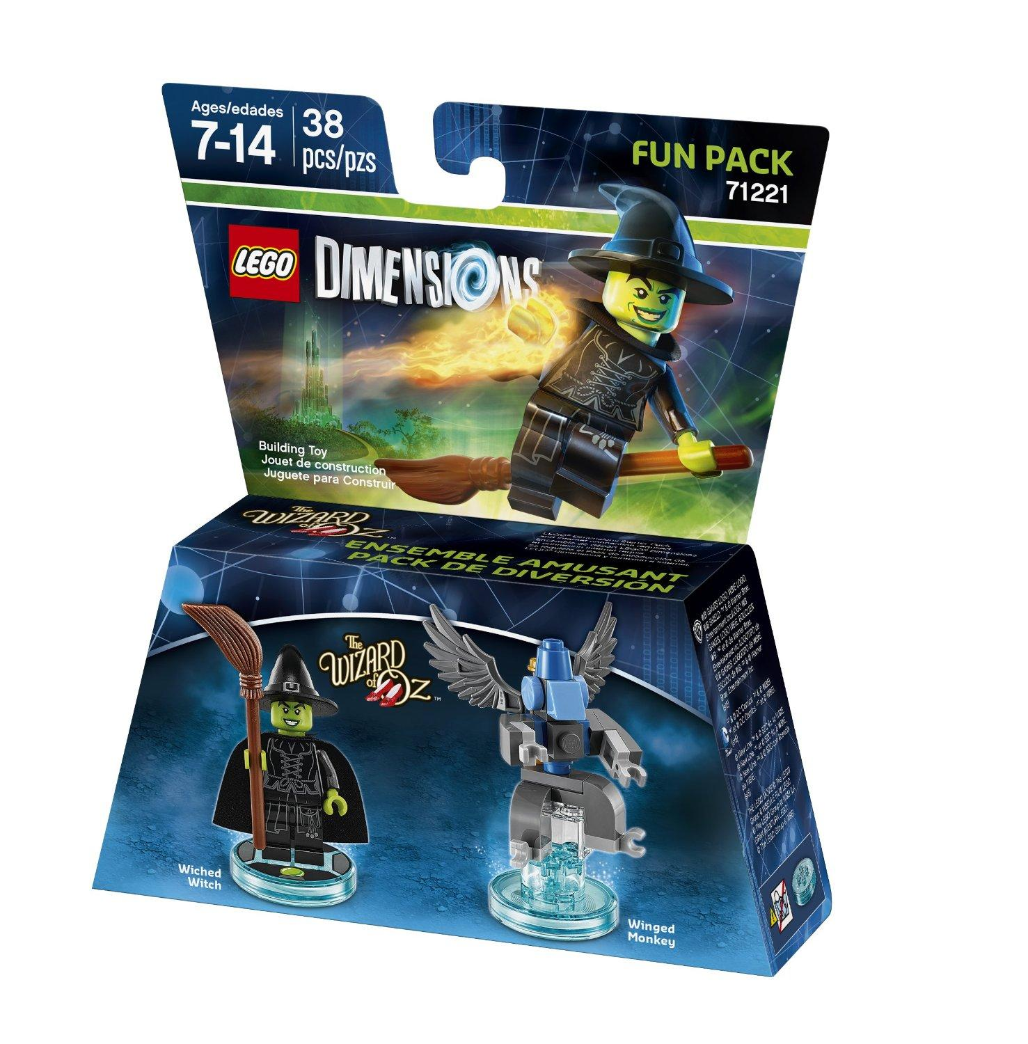 $6.88 Wizard of Oz Wicked Witch Fun Pack LEGO Dimensions