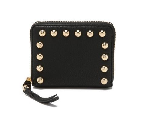 Rebecca Minkoff Mini Ava Zip With Studs Wallet