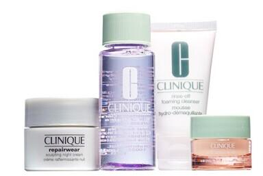 Free 4-Pc Gift with Any $39.5 Clinique Purchase @ Nordstrom