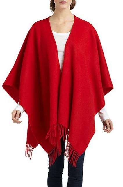 Portolano Woven Lambswool Shawl @ Saks Off 5th