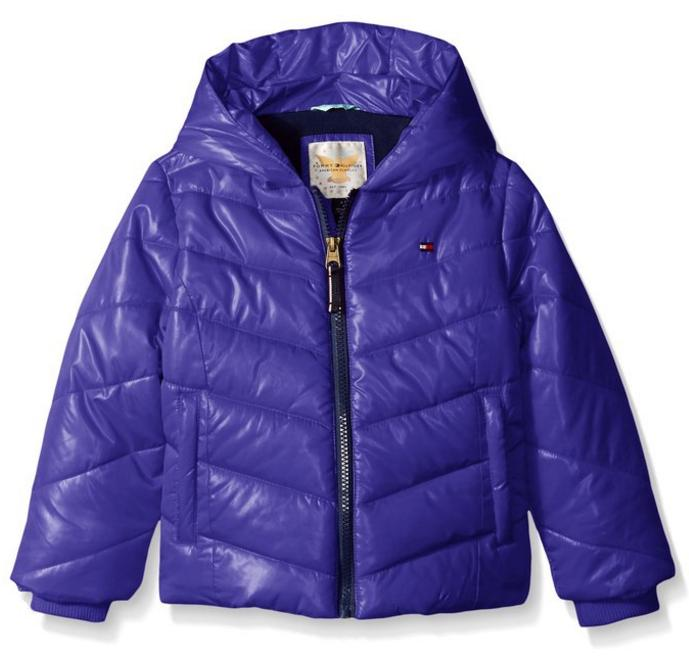 $26.99 Tommy Girl Little Girls' Solid Puffer