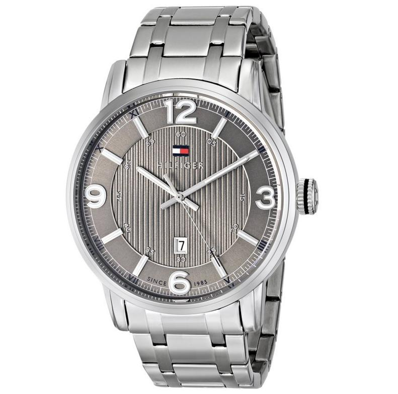 Lowest price! Tommy Hilfiger Men's 1710345 Analog Display Quartz Silver Watch