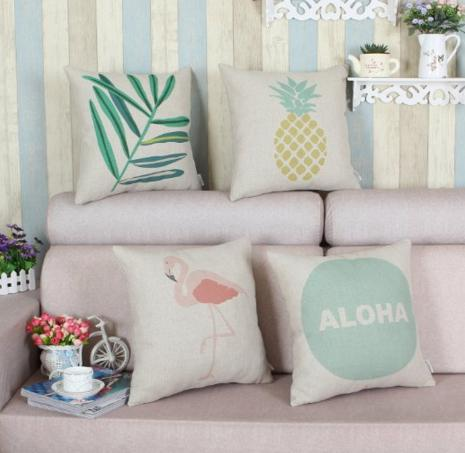 Set of 4 Euphoria Home Decorative Cushions Covers Pillows