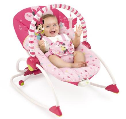 Disney Minnie Mouse Bows & Butterflies Baby To Big Kid Rocking Seat @ Amazon