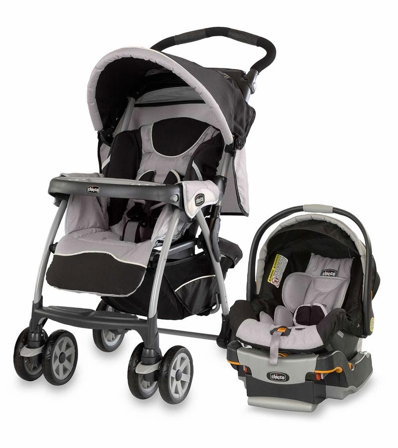Chicco Cortina Stroller and Keyfit 30 Infant Car Seat & Base