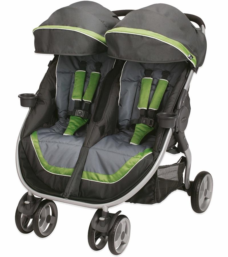 Graco FastAction Fold Duo LX Click Connect Stroller - Piazza