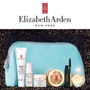 Free 6 Deluxe Skincare and Beauty Products + Bonus Cosmetic Bag with Any $45+ Order @ Elizabeth Arden