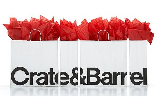 Up to 60% Off Outlet Sale @ Crate & Barrel