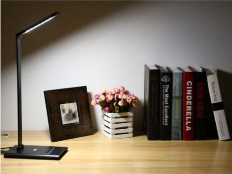 LE® Dimmable LED Touch Sensitive Desk Lamps, 7-Level Brightness, 6W