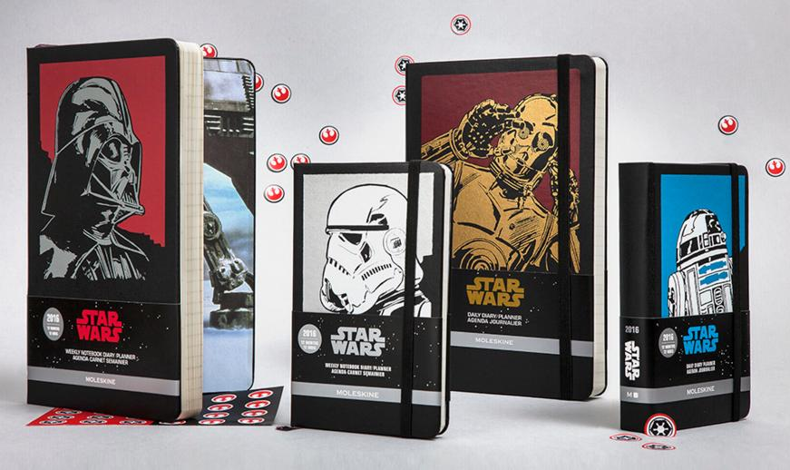 Limited edition Moleskine notebooks