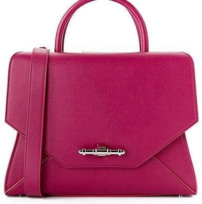 Givenchy Obsedia Small Textured Leather Satchel On Sale @ Rue La La