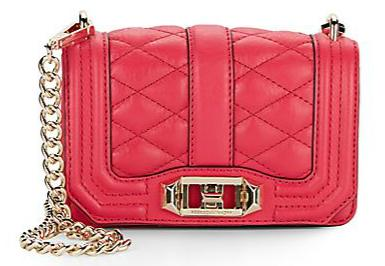 Rebecca Minkoff Mini Love Leather Shoulder Bag