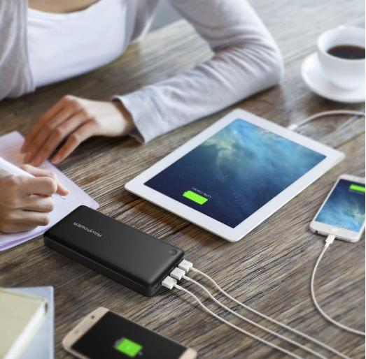 RAVPower 26,800mAh 3-Port External Battery Charger