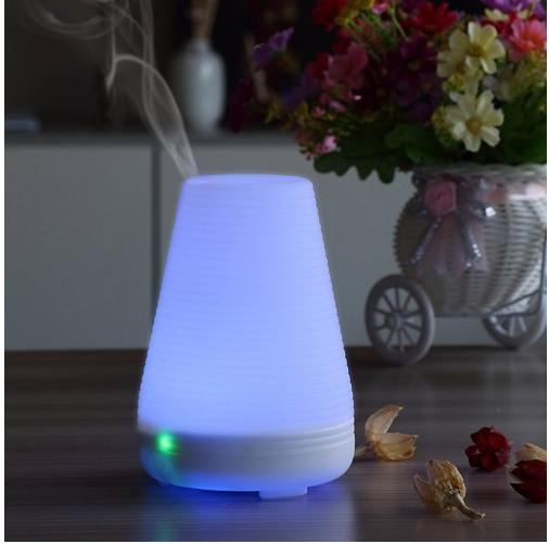 Essential Oil Diffuser,URPOWER® Aromatherapy Diffuser,100ML Humidifier with Timing Settings,7 Color LED Lights,Zero Noise,Waterless Auto Off,Portable for Baby Room,Home, Bedroom, Office, Spa,Yoga