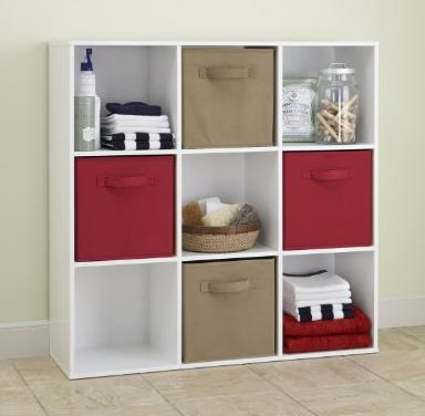 ClosetMaid 421 Cubeicals 9-Cube Organizer, White