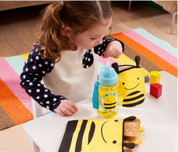 Skip Hop Zoo Reusable Sandwich and Snack Bag Set @ Amazon