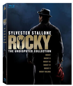 $17.99 Rocky: The Undisputed Collection [Blu-ray]