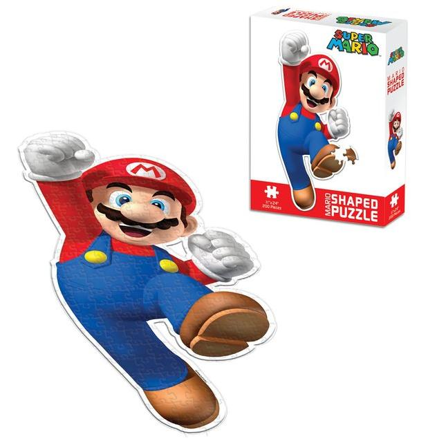USAOPOLY - Super Mario Shaped Puzzle @ Amazon