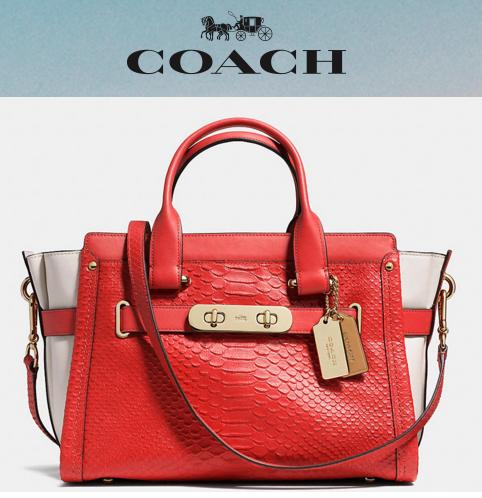 Up to 50% Off Winter Sale at Coach