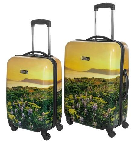 $74.1 Travelpro NG Explorer Hardside Spinner Luggage, 2-Piece Set