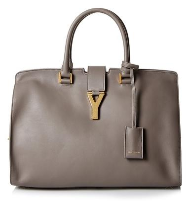 Saint Laurent Handbag, Fog, One Size On Sale @ MYHABIT