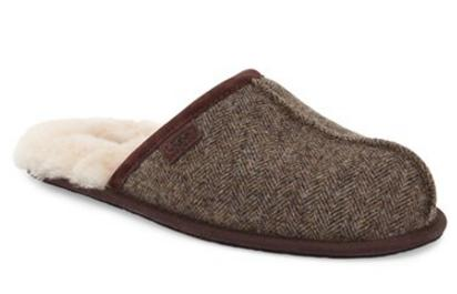 UGG® Australia 'Scuff' Tweed Genuine Shearling Slipper (Men)