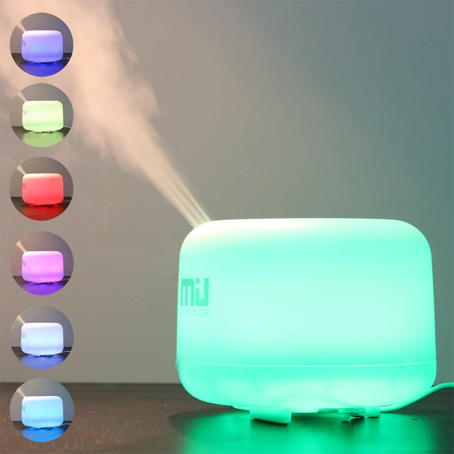 MIU COLOR® 500ml Aromatherapy Essential Oils Diffuser
