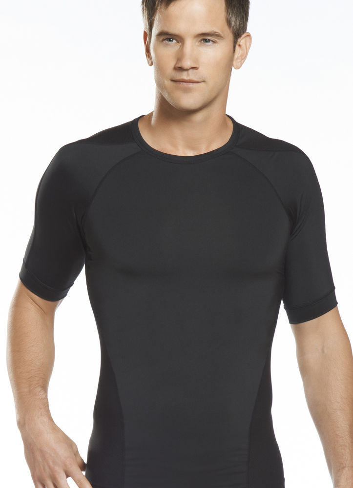 Jockey Mens Pro Performance Crew Sportswear Crew Neck T-Shirts polyester