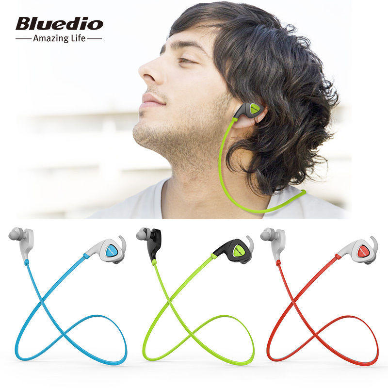 Bluedio Bluetooth 4.1 Headset Q5 Wireless Sports Headphones,Sweat Proof Earphone