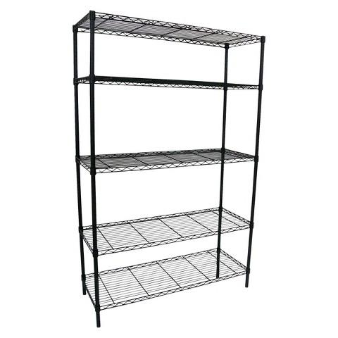 Adjustable 5-Tier Wire Wide Shelving Unit Room Essentials
