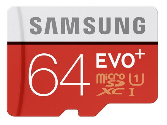 Up to 60% Off Select Samsung EVO+ Memory Cards