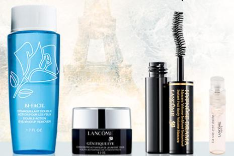 Free 4 Deluxe Samples with Orders over $49 @ Lancome