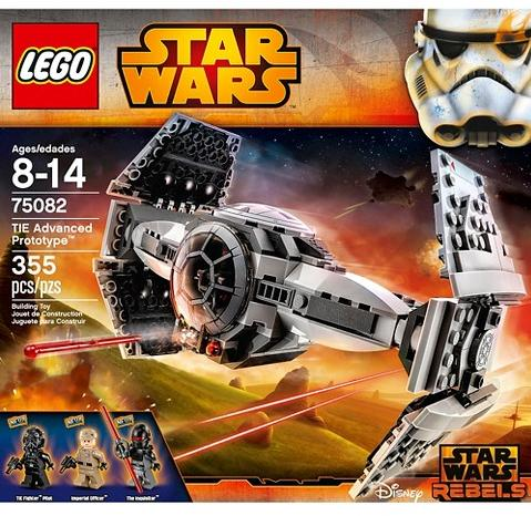 $31.99 Lego Star Wars Tie Advanced Prototype 75082 @ Target
