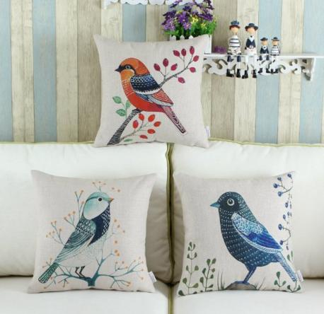 Set of 3 Euphoria Home Decorative Cushions Covers Pillows