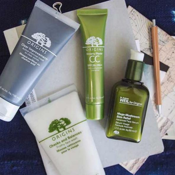 A free deluxe sample of Checks & Balances cleanser with $30 Purchase @ Origins