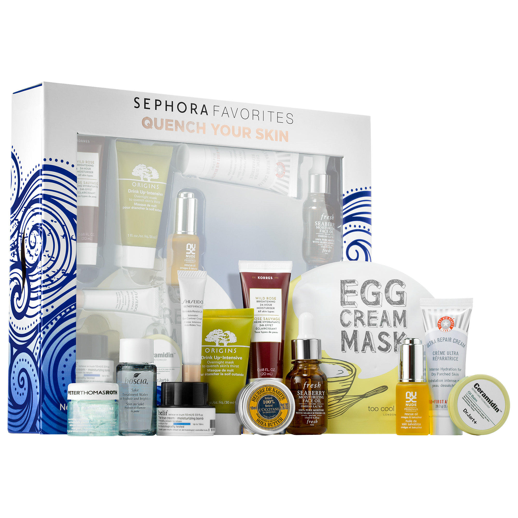 Sephora launched new Sephora Favorites Quench Your Skin Set