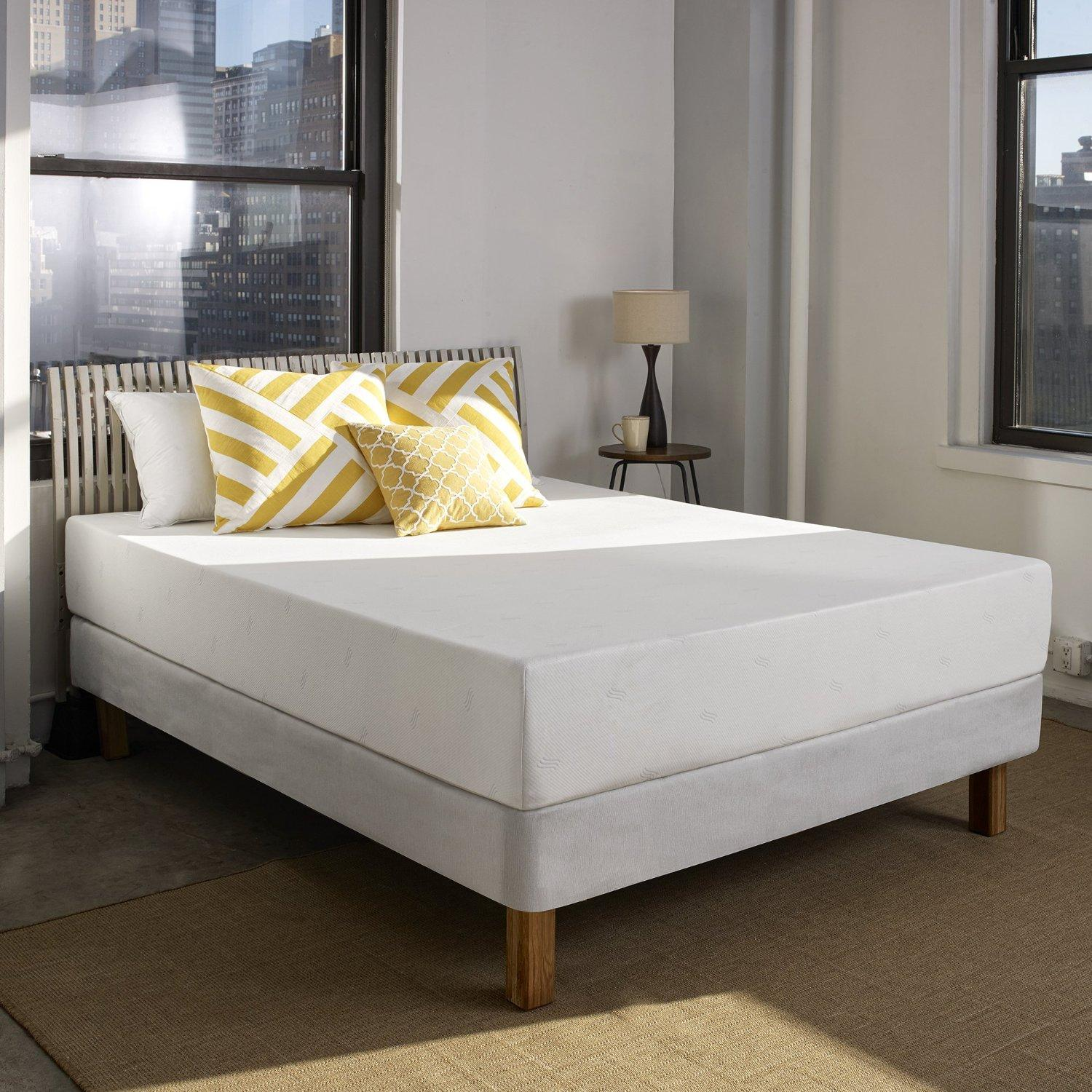 $283.55 Sleep Innovations Shea 10-inch Memory Foam Mattress, Twin