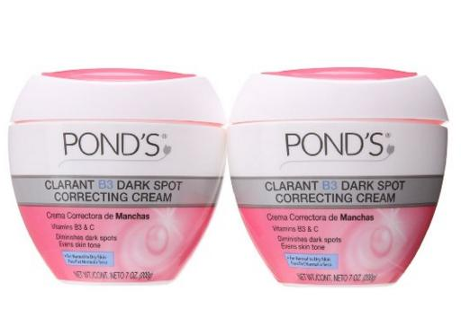 Pond's Correcting Cream, Clarant B3 Dark Spot Normal to Dry Skin 7 oz (Pack of 2)