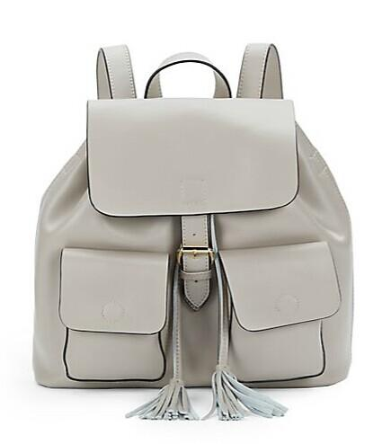 KC JAGGER Morgan Leather Backpack @